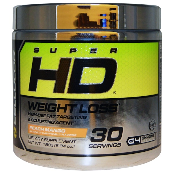 Cellucor, Super HD, Weight Loss, Peach Mango, 6.34 oz (180 g)