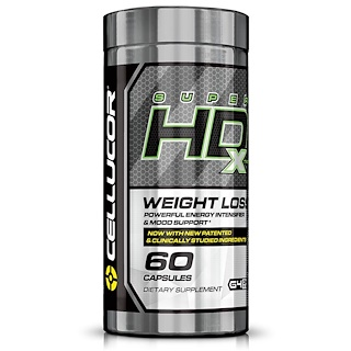 Cellucor, Super HD Xtreme, 60 Capsules
