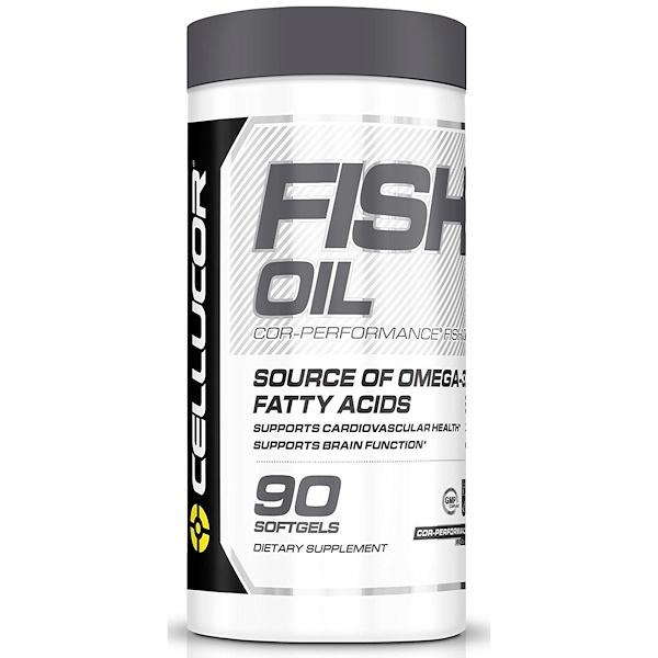 Cellucor, Рыбий жир Cor-Performance, 90 мягких желатиновых капсул (Discontinued Item)