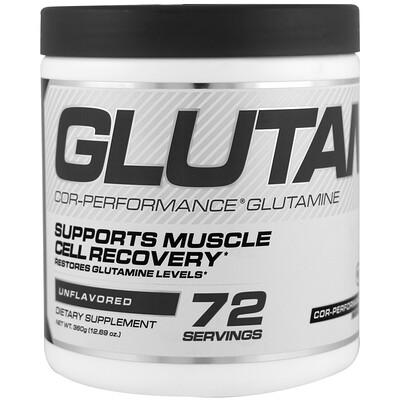 Cellucor Глютамин Cor-Performance, без вкусовых добавок, 360 г (12, 69 унц.)  - купить со скидкой
