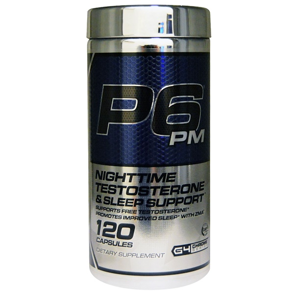 Cellucor, P6 PM, Nighttime Testosterone & Sleep Support, 120 Capsules