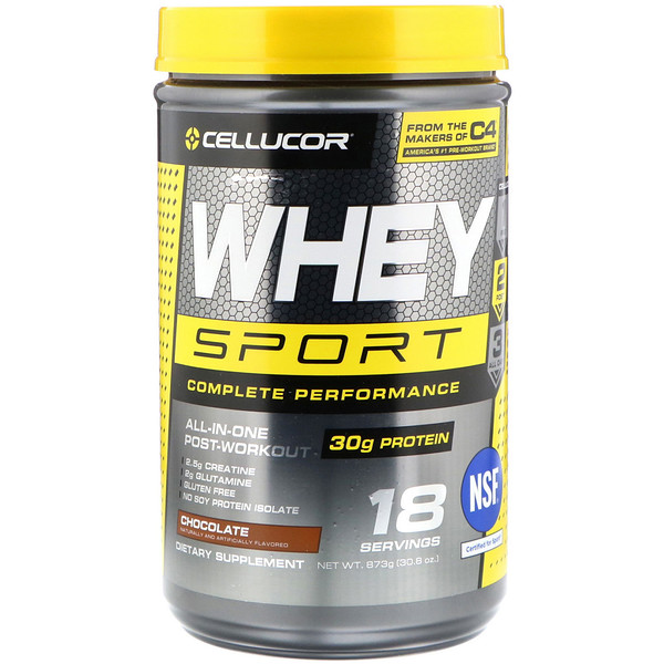 Cellucor, Whey Sport Complete Performance, Chocolate, 30.8 oz (873 g) (Discontinued Item)