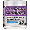 Cellucor, Alpha Amino, Performance BCAAs, Icy Blue Razz, 13.4 oz (381 g)
