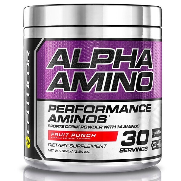Alpha Amino, Performance BCAAs, Fruit Punch, 13.4 oz (381 g)