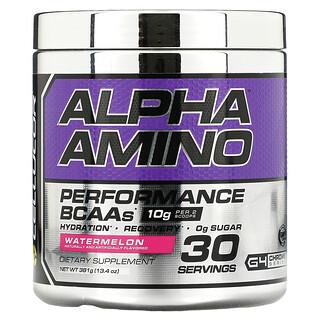 Cellucor, Alpha Amino, BCAA de performance, pastèque, 381 g (13,4 oz)