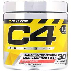 Cellucor, C4 Original Explosive,鍛煉前,櫻桃酸橙汽水味,6.3 盎司(180 克)