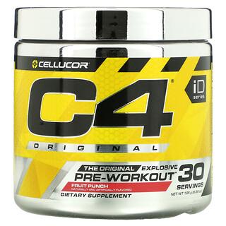 Cellucor, C4 Original Explosive, предтренировочный комплекс, фруктовый пунш, 195г (6,88г)