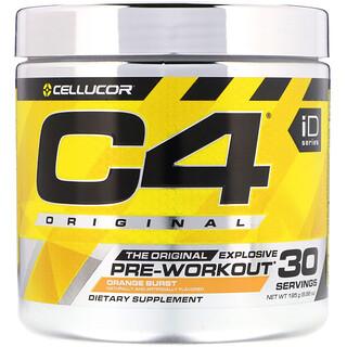 Cellucor, C4 Original Explosive, Pre-Workout, Orange Burst, 6.88 oz (195 g)