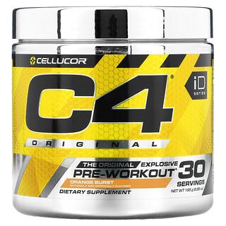 Cellucor, C4Original, предтренировочный комплекс, со вкусом апельсина, 195г (6,88унции)