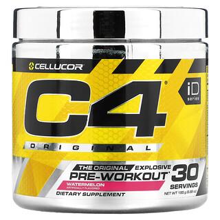 Cellucor, C4 Original Explosive, Pre-Workout, Watermelon, 6.88 oz (195 g)