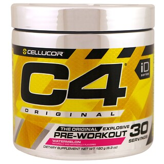 Cellucor, C4 Original Explosive, Pre-Workout, Watermelon, 6.3 oz (180 g)