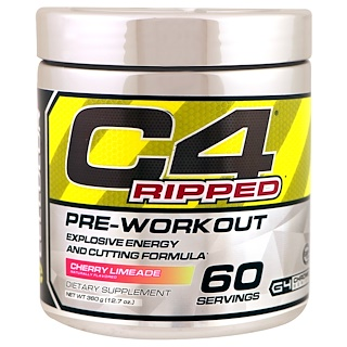 Cellucor, C4 Ripped, Pre-Workout, Cherry Limeade, 12.7 oz (360 g)