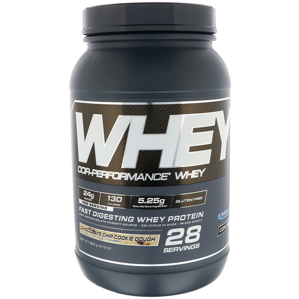 Cellucor, Cor-Performance Whey, Chocolate Chip Cookie Dough,  2.12 lb (963 g) (Discontinued Item)