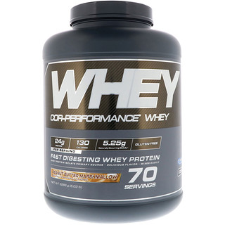 Cellucor, Cor-Performance Whey, Peanut Butter Marshmallow, 5.03 lb (2282 g)