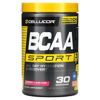 Cellucor, BCAA Sport, Увлажнение и восстановление целый день, Вишневый лаймад, 11,6 унц. (330 г)
