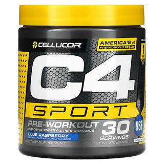 Cellucor, C4 Sport,運動前,藍莓,9.5盎司(270克)