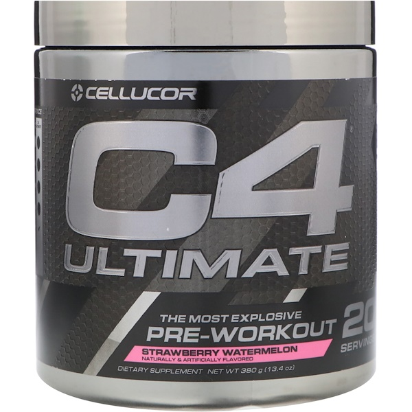 C4 Ultimate, Pre-Workout, Strawberry Watermelon, 13.4 oz (380 g)