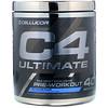 Cellucor, C4 Ultimate, לפני האימון, קרח כחול,760 גרם