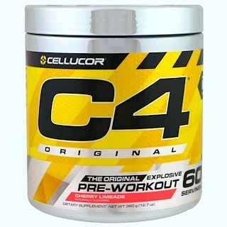 Cellucor, C4 Original Explosive, Pre-Workout, Cherry Limeade, 12.7 oz (360 g)