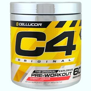 Селлюкор, C4 Original Explosive, Pre-Workout, Cherry Limeade, 12.7 oz (360 g) отзывы покупателей