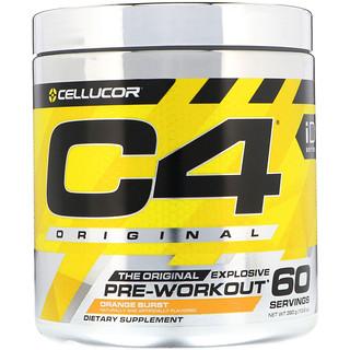 Cellucor, C4 Original Explosive, Pre-Workout, Orange Burst, 13.8 oz (390 g)