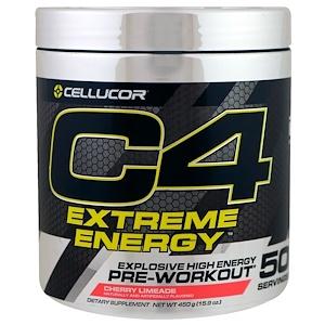 Селлюкор, C4 Extreme Energy, Pre-Workout, Cherry Limeade, 15.9 oz (450 g) отзывы покупателей
