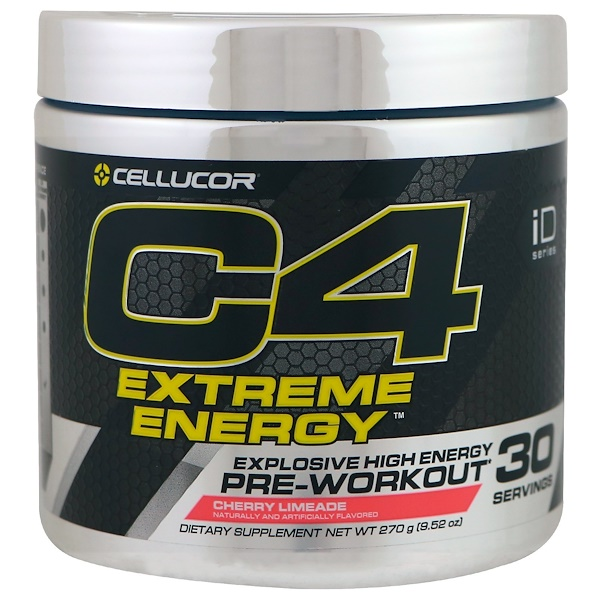 Cellucor, C4 Extreme Energy, Pre-Workout, Cherry Limeade, 9.52 oz (270 g)