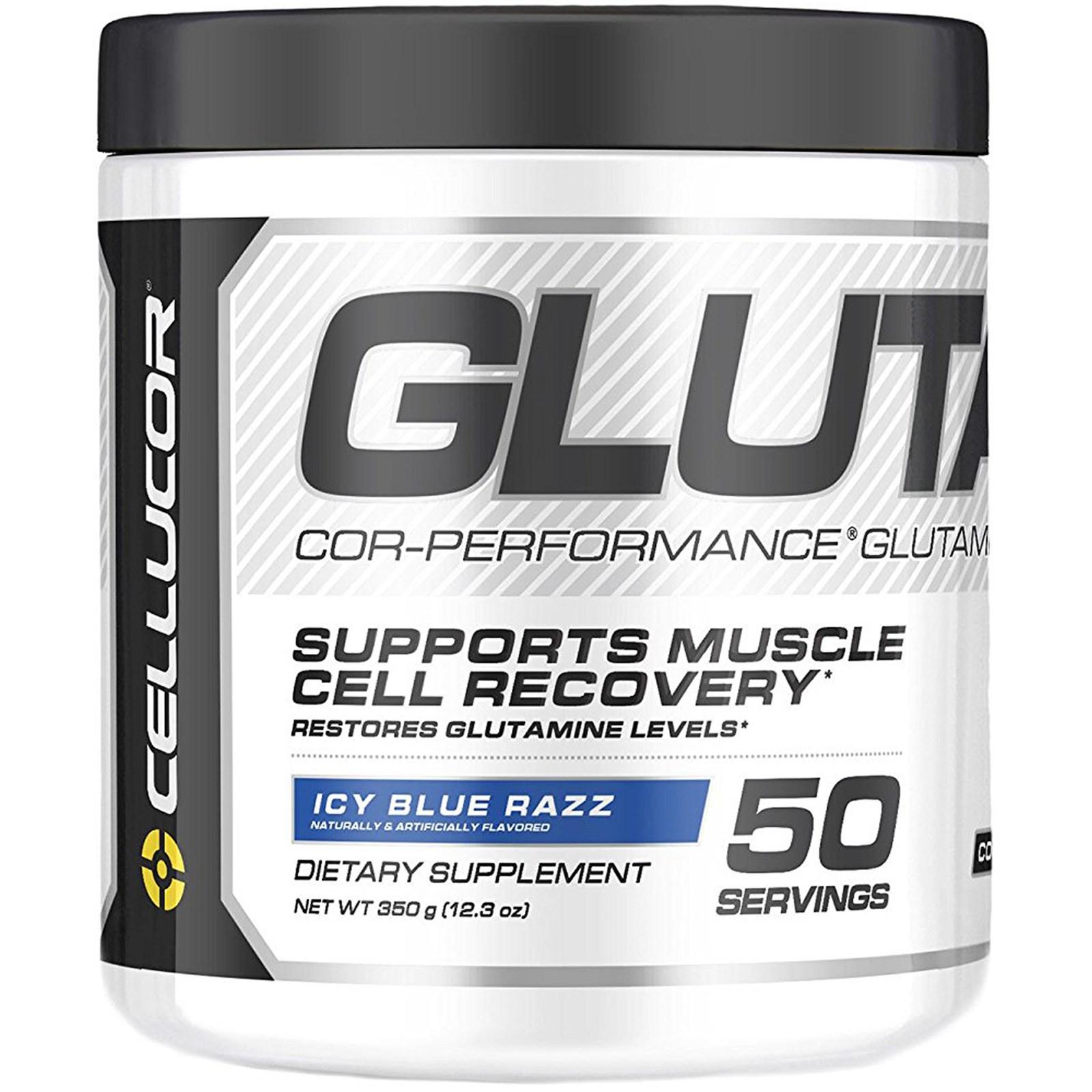 Cellucor Cor Performance Glutamine Icy Blue Razz 123 Oz 350 G