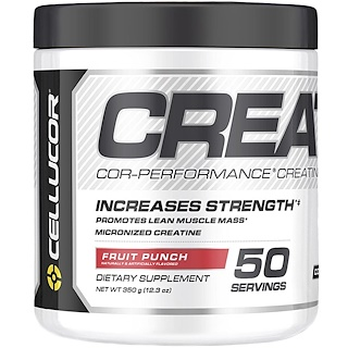 Cellucor, Cor-Performance Creatine, Fruit Punch, 12.3 oz (350 g)