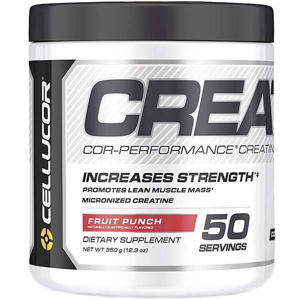 Cellucor, Cor-Performance肌酸,果汁噴趣酒,12、3盎司(350克)
