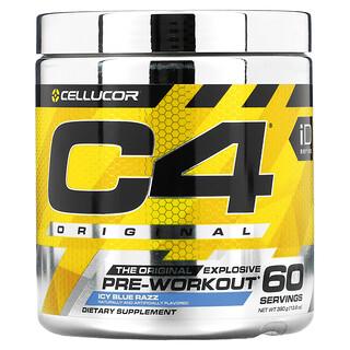 Cellucor, C4 Original Explosive, Pre-Workout, Icy Blue Razz, 13.8 oz (390 g)