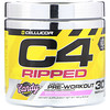 Cellucor, C4 Ripped Pre-Workout, Berry Brainiacs, 6.3 oz (180g)