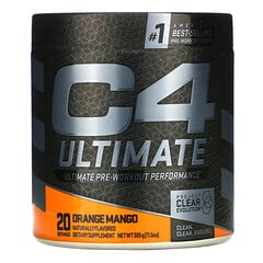 Cellucor, C4 Ultimate,鍛煉前,柳丁芒果,11.5 盎司(326 克)