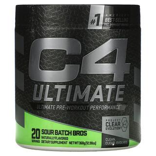 Cellucor, C4 Ultimate Pre-Workout Performance, Sour Batch Bros, 12.98 oz (368 g)