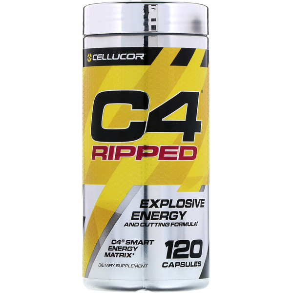 Cellucor, C4 Ripped, Explosive Energy, 120 Capsules (Discontinued Item)