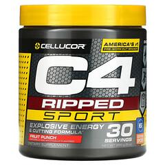 Cellucor, C4 Ripped Sport,鍛煉前,水果混合,9 盎司(255 克)