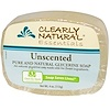Clearly Natural, Essentials, Glycerin Soap, Unscented, 4 oz (113 g)