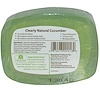 Clearly Natural, Essentials, Pure and Natural Glycerine Soap, Cucumber, 4 oz (113 g) (Discontinued Item)