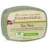 Clearly Natural, Essentials, Pure and Natural Glycerine Soap, Tea Tree, 4 oz (113 g)