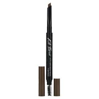 Clio, Kill Brow, Auto Hard Brow Pencil, 02 Light Brown, 0.01 oz (0.31 g)