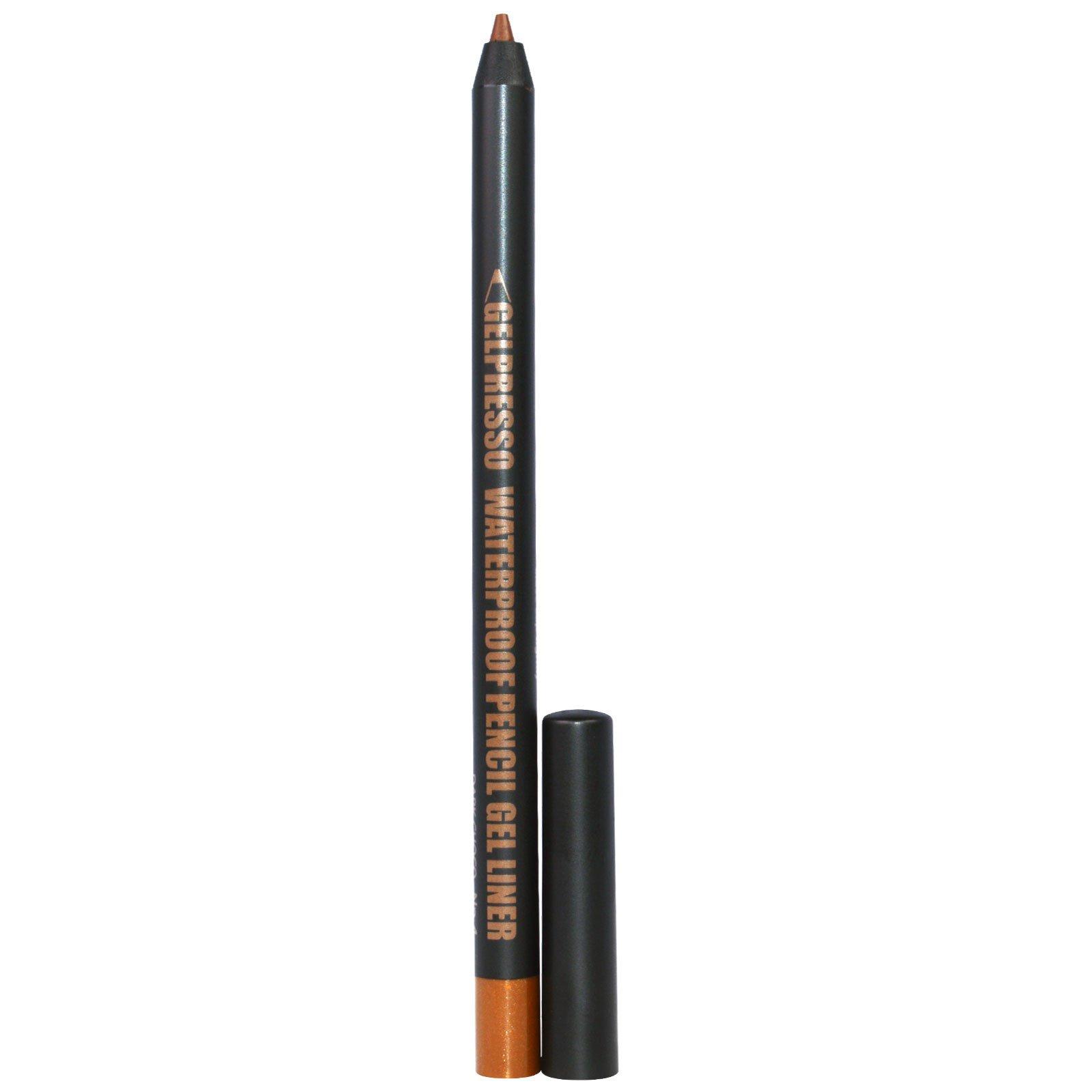 Clio, Gelpresso Waterproof Pencil Gel Liner, Dark Choco, .5 g