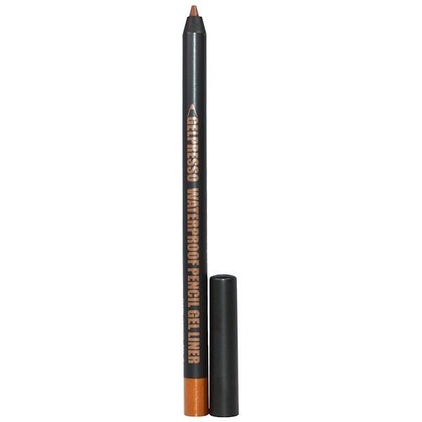 Clio, Gelpresso Waterproof Pencil Gel Liner, Dark Choco, 0.5 g (Discontinued Item)
