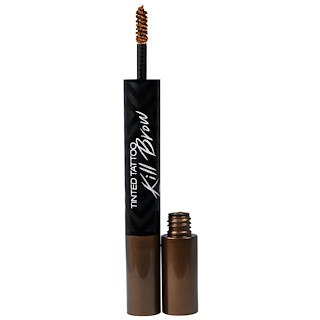 Clio, Tinted Tattoo Kill Brow, 1 Earth Brown, 0.25 oz (7.3 g)