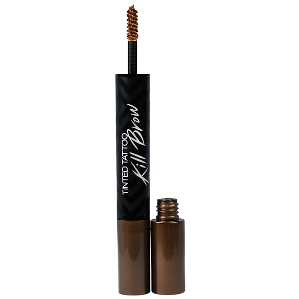 Clio, Tinted Tattoo Kill Brow, 1 Earth Brown, 0.25 oz (7.3 g) (Discontinued Item)