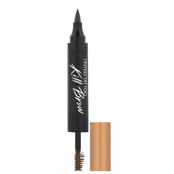Clio, Tinted Tattoo Kill Brow, 2 Soft Brown, 0.25 oz (7.3 g) (Discontinued Item)