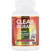 Clear Migraine при мигренях, 60 капсул