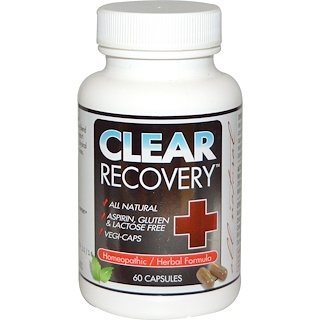 Clear Products, Clear Recovery, 60 Capsules