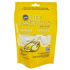 Cat-Man-Doo, Life Essentials, Freeze Dried Chicken for Cats & Dogs, 2 oz (57 g)