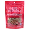 Cat-Man-Doo, Life Essentials, Freeze Dried Sirloin Beef Nuggets, For Cats & Dogs, 3 oz (85 g)
