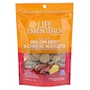 Cat-Man-Doo, Life Essentials, Freeze Dried Sirloin Beef & Cheese Nuggets, For Cats & Dogs, 3 oz (85 g)